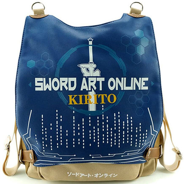 Canvas Multipurpose Sword Art Online backpack