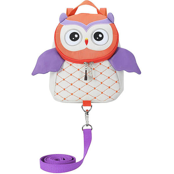 Classic Owl Toddler Backpack With a Harness