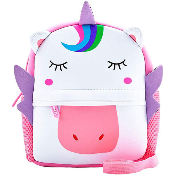 3D Unicorn Style School Backpack