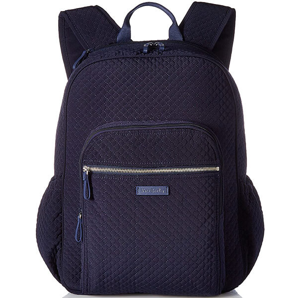 Cotton Microfiber Solid Color Backpack
