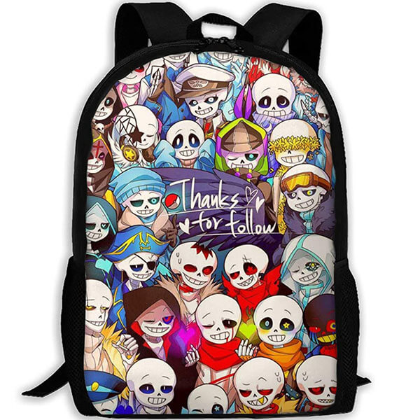 Waterproof Oxford Adult's Undertale Backpack