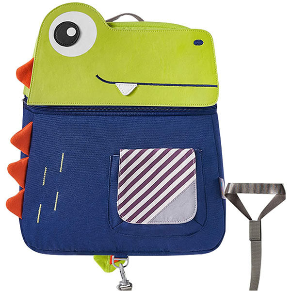3D Dinosaur Child Harness Backpack