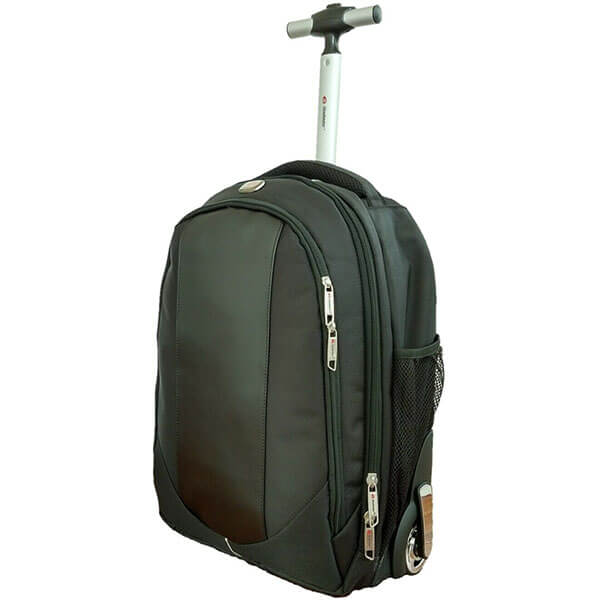 Olive Green Catchy Rolling Backpack
