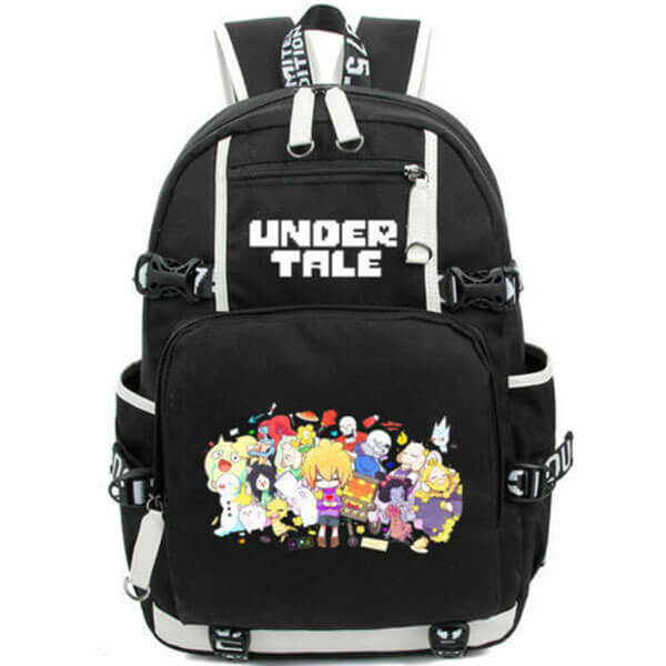 Undertale Sans Game Canvas Backpack