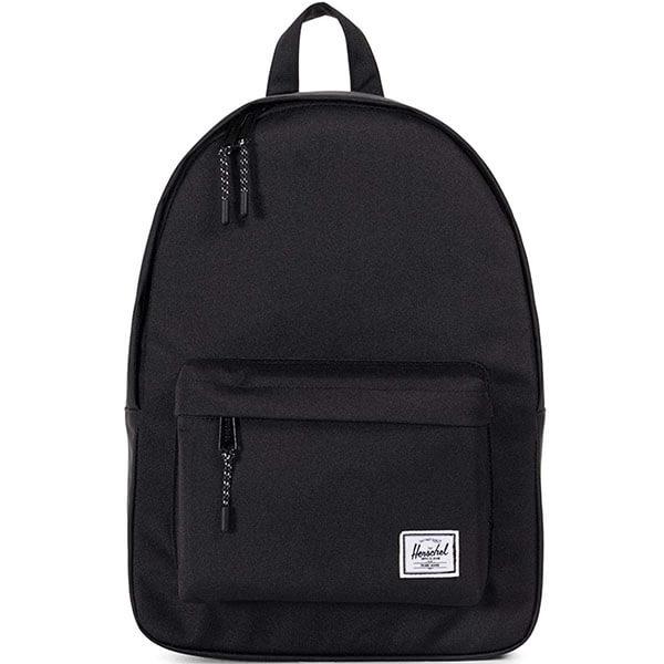 Herschel Classic Black Solid Color Backpack