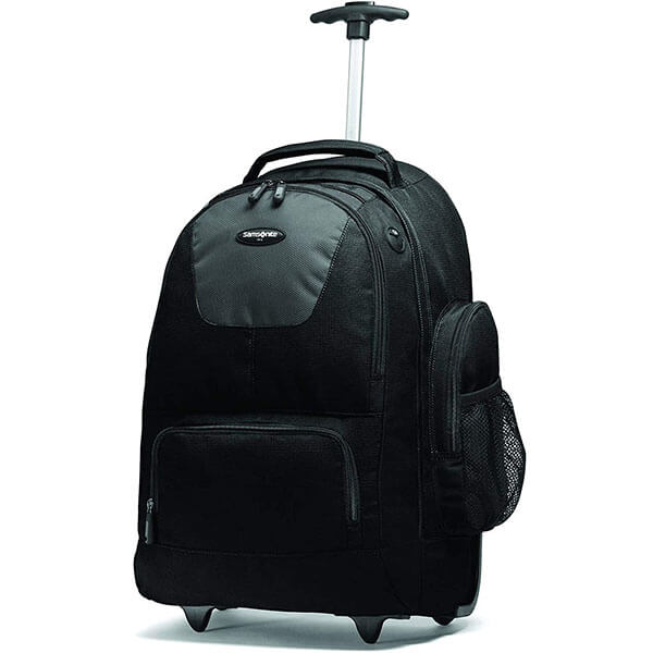Nylon Backpack with Organizational Pockets