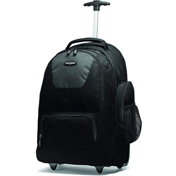 Nylon Backpack with Organizational Pockets