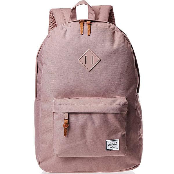 Herschel Ash-Rose Solid Color Backpack