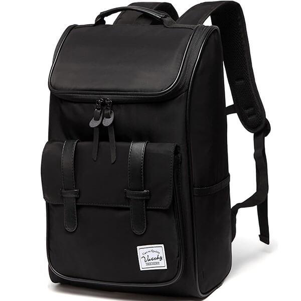 Vaschy Water-Resistant Vintage Backpack