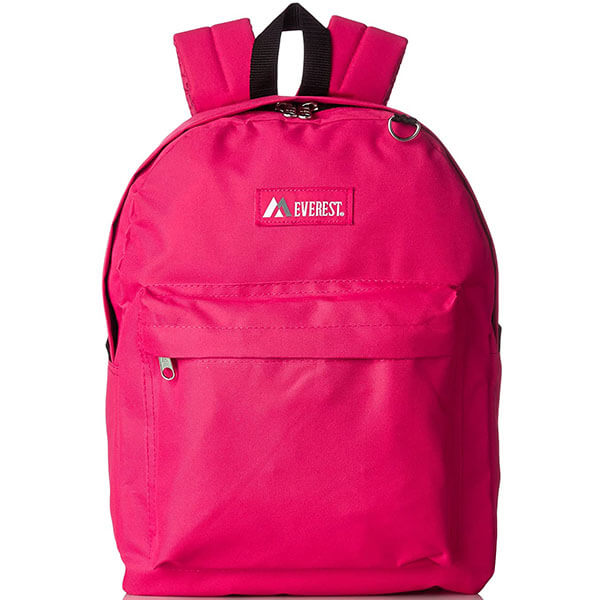 Grade Schooler's Solid Color Backpack