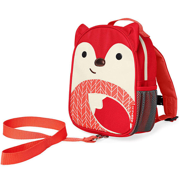 Vibrant Red Fox Backpack for Pre-School