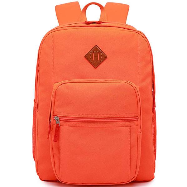 Abshoo Solid Color School Backpack