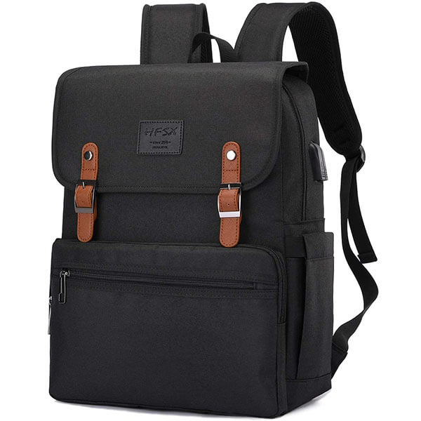 Water Resistant Vintage Anti-Theft Backpack