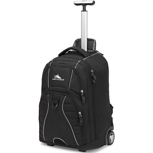 Fashionable Rolling Backpack with USB Port