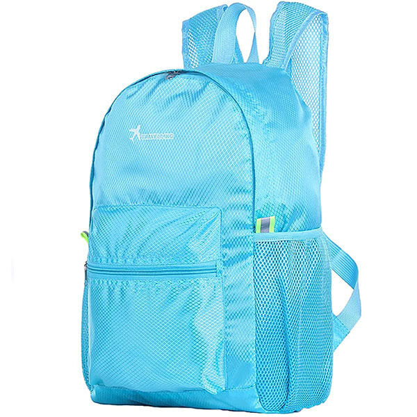 Waterproof Nylon Solid Color Backpack