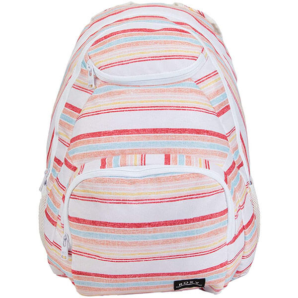 Colorful Women Shadow Stripe Backpack