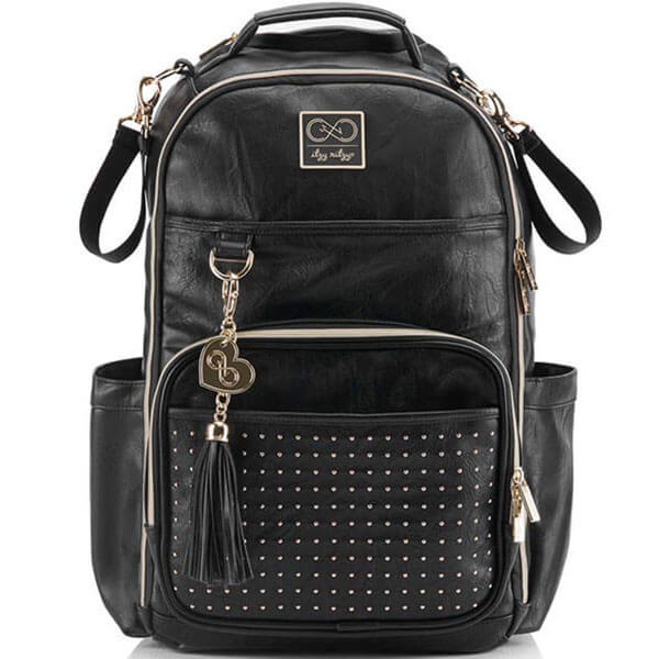 Studded Backpack with Changeable Pad