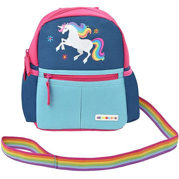 Adorable Unicorn Backpack with Rainbow Leash