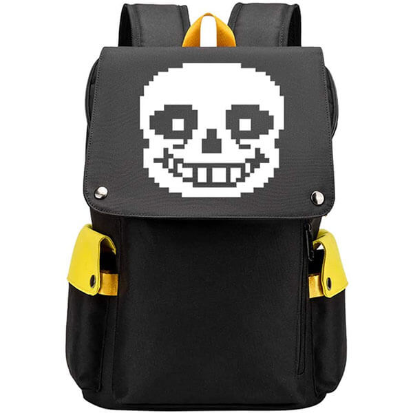 Casual Undertale San Computer Backpack