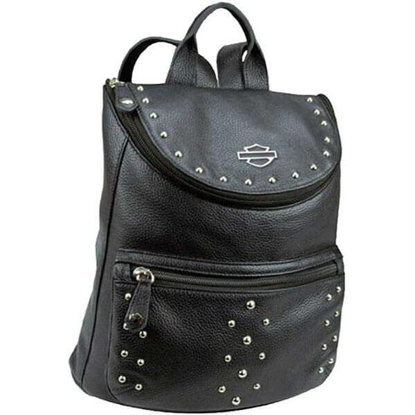 Harley-Davidson Leather Backpack for Rider Girls