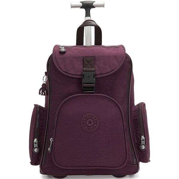 Premium Nylon Rolling Backpack