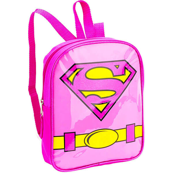 Toddlers Glitter Emblem Supergirl Bookbag