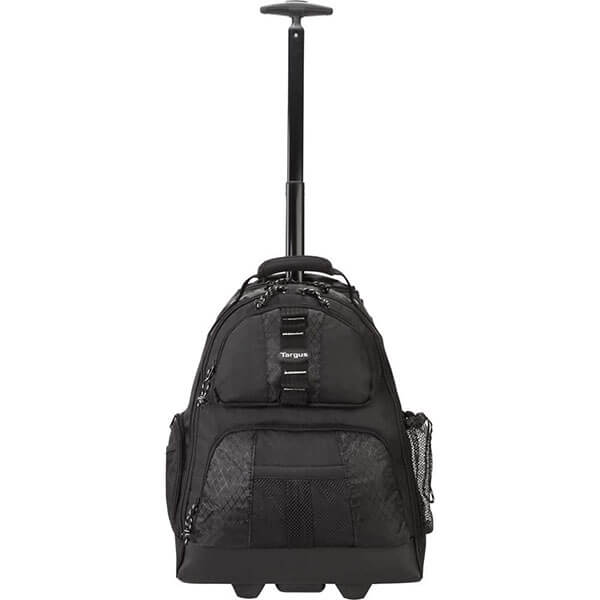 Cute Little Laptop Backpack with Telescoping Handle