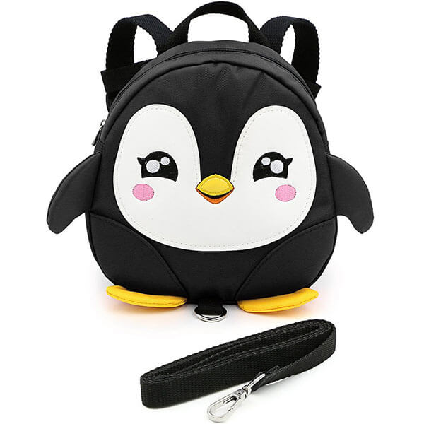 Playful Penguin Backpack with Safety Harness