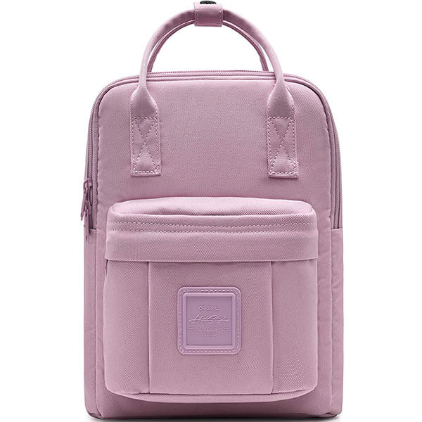 Waterproof Solid Color Square Backpack