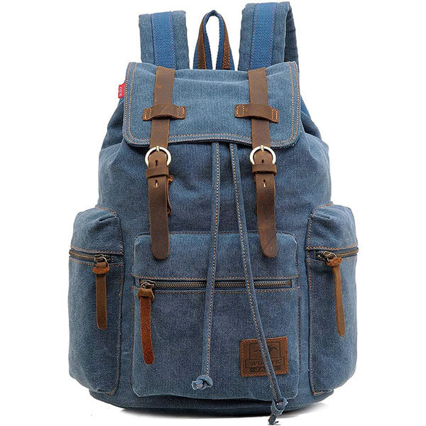 Canvas Old School Backpack