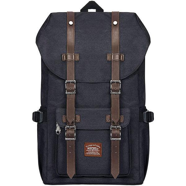 Vintage Large Oxford Backpack for School