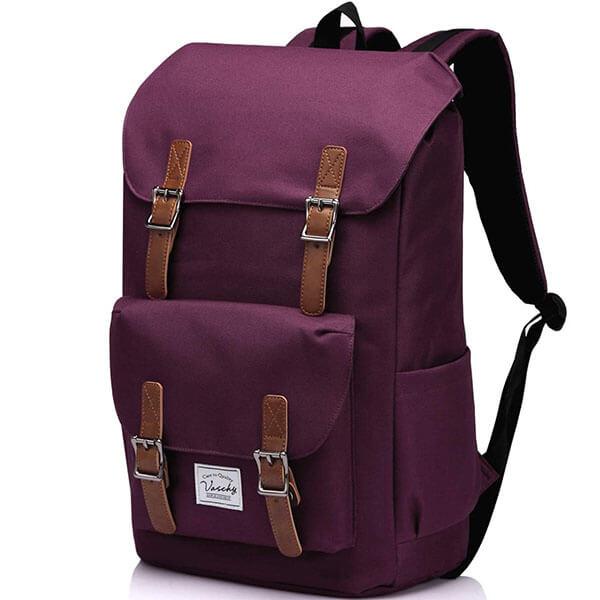 Vaschy Water-Resistant Antique Backpack