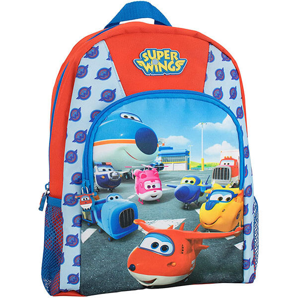 All Over 'W' Logo Super Wing Elementary Backpack