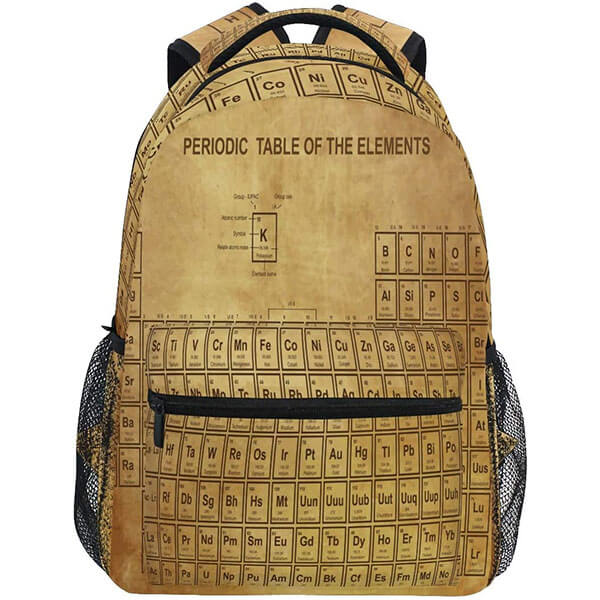 Brown Colored Science Backpack