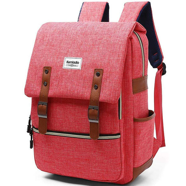 Scratch-Resistant Antique Casual School Backpack