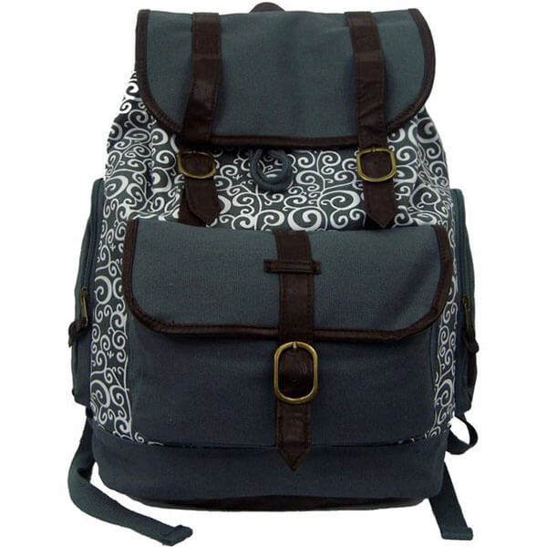 Antique Canvas Women Backpack