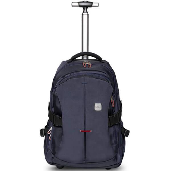 Comfortable Oxford Waterproof Rolling Laptop Backpack