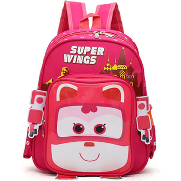 Waterproof Super Wings Cute Backpack