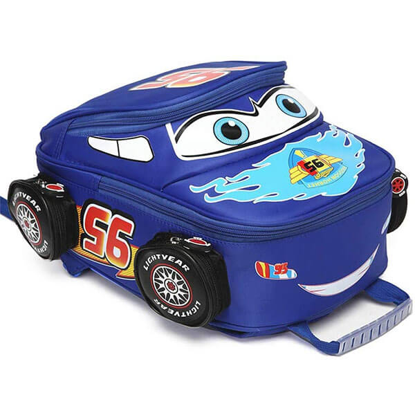 Waterproof Unisex Truck Car Kids School Backpack