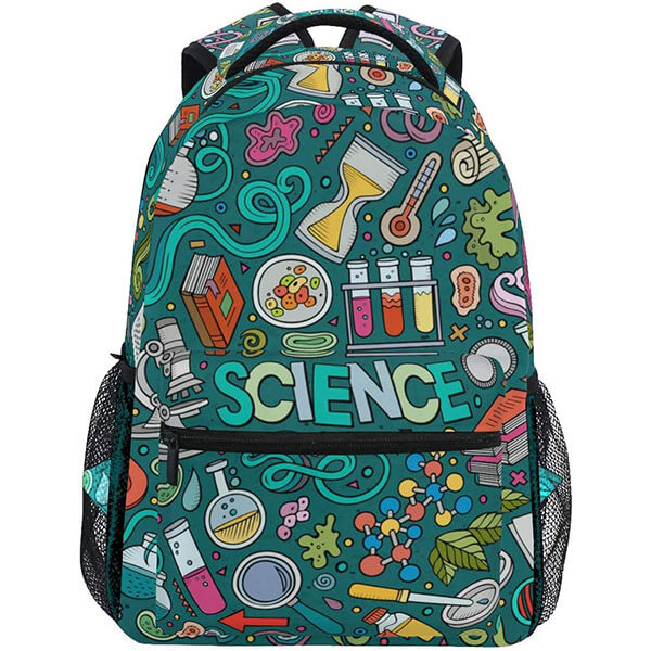 Education Items Printed Travel Backpack