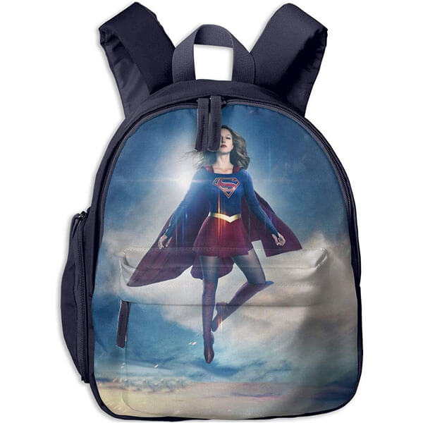 Kara Zor El 3D Print Supergirl Backpack