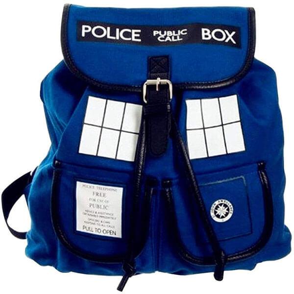Standard Double Pocket Tardis Backpack
