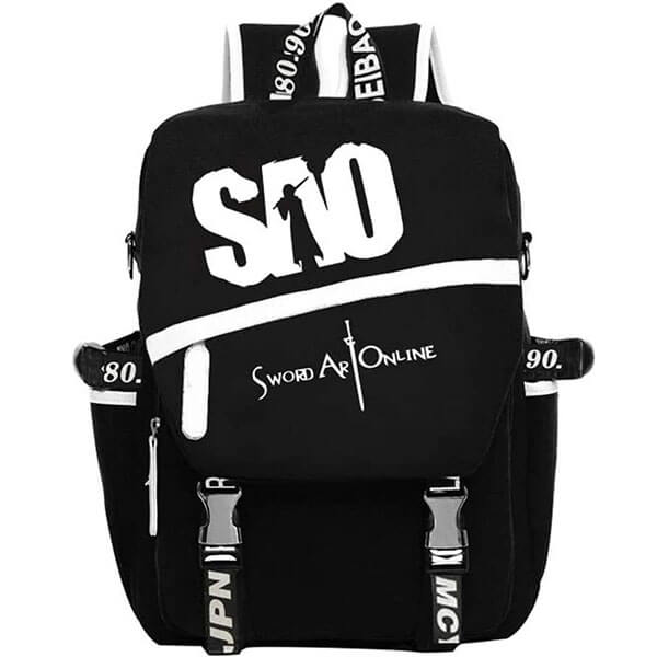 Sword Art Luminous Online Canvas Laptop Backpack