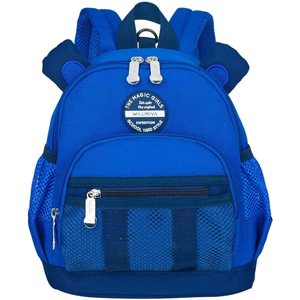 Waterproof School Backpack with Leash