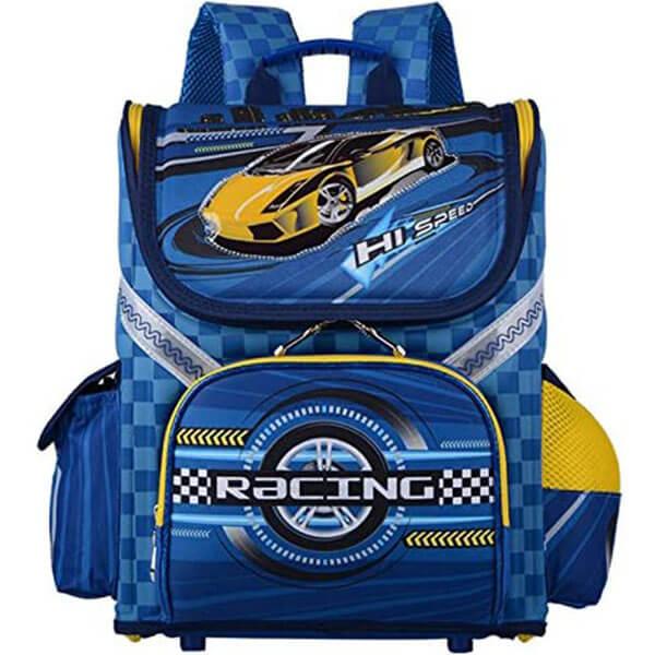 Attractive Children Racing Car Backpack