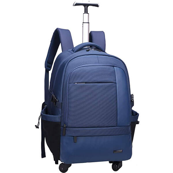 Multifunctional Waterproof Wheeled Backpack