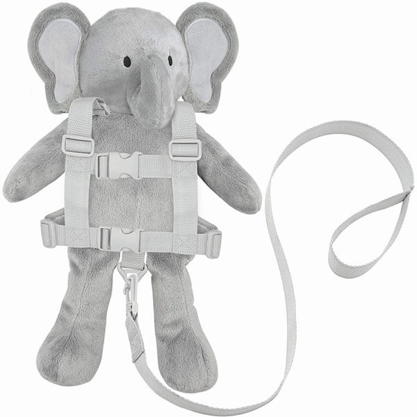Stylish Silver Animal Backpack for Toddlers