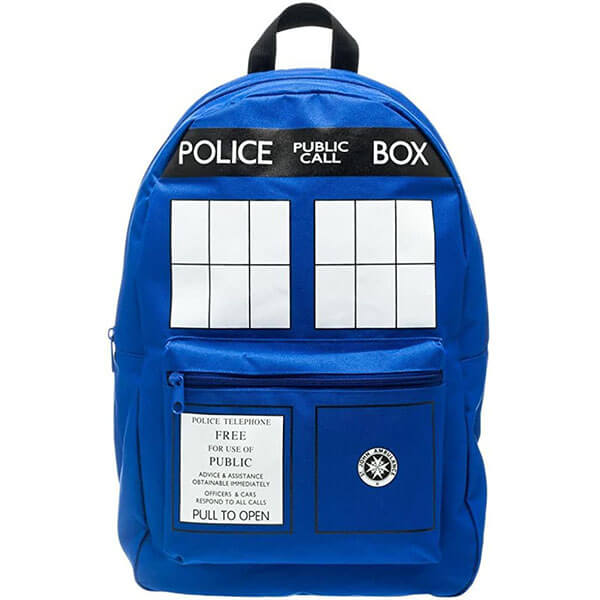 Tardis Blue Print Backpack