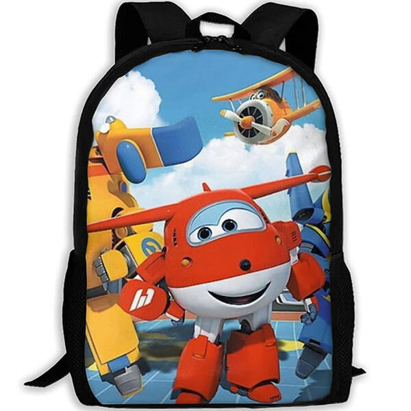 Super Wings All Over Graphics Adult Backpack