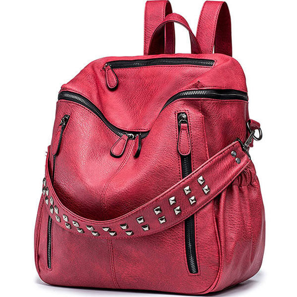 Waterproof Leather Casual Purse for Girls
